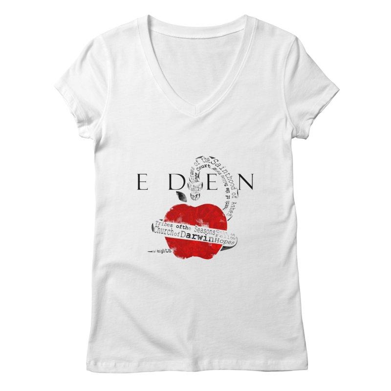 Virginia - Eden Women's Regular V-Neck by Dystopia Rising's Artist Shop