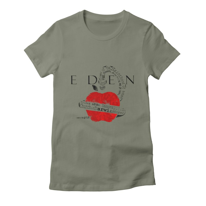 Virginia - Eden Women's Fitted T-Shirt by Dystopia Rising's Artist Shop