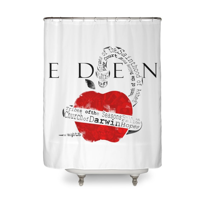 Virginia - Eden Home Shower Curtain by Dystopia Rising's Artist Shop