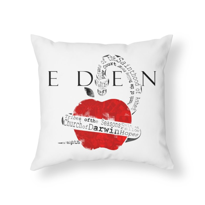 Virginia - Eden Home Throw Pillow by Dystopia Rising's Artist Shop