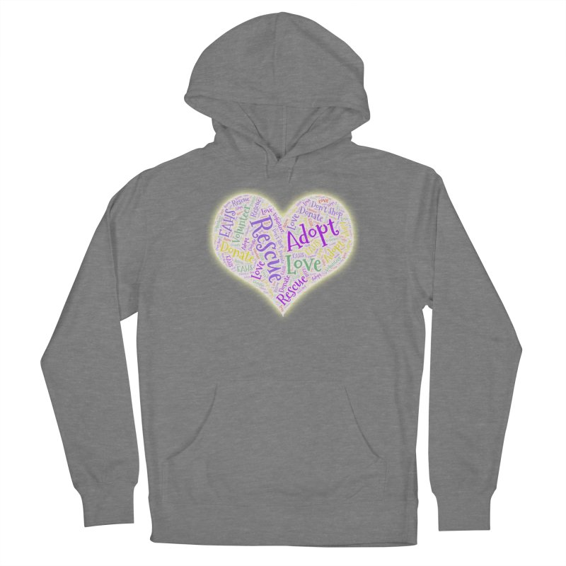 Rescue Heart Women's Pullover Hoody by East Alabama Humane Society's Shop
