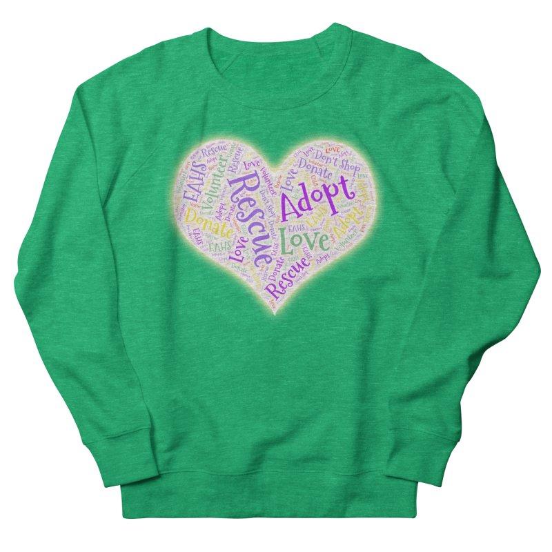 Rescue Heart Women's Sweatshirt by East Alabama Humane Society's Shop