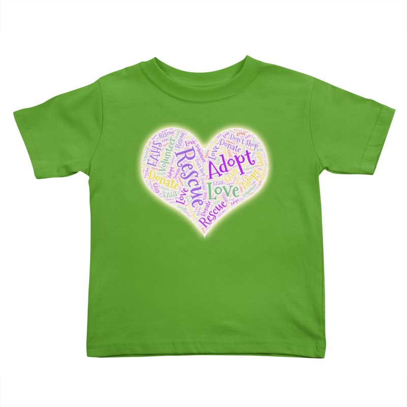 Rescue Heart Kids Toddler T-Shirt by East Alabama Humane Society's Shop