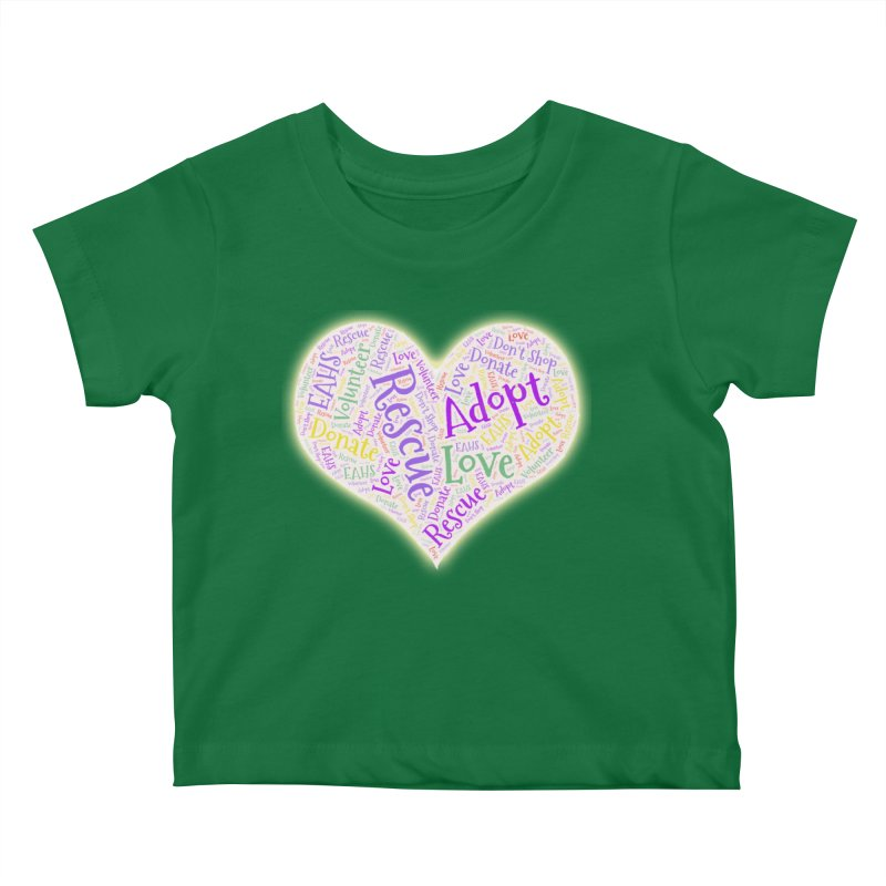 Rescue Heart Kids Baby T-Shirt by East Alabama Humane Society's Shop