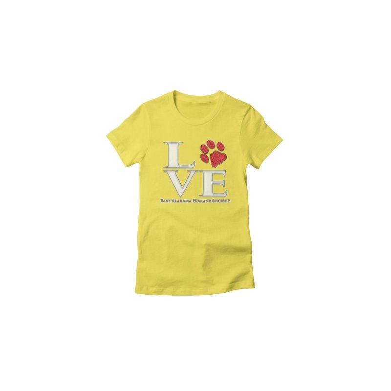LOVE Kids Toddler Longsleeve T-Shirt by East Alabama Humane Society's Shop