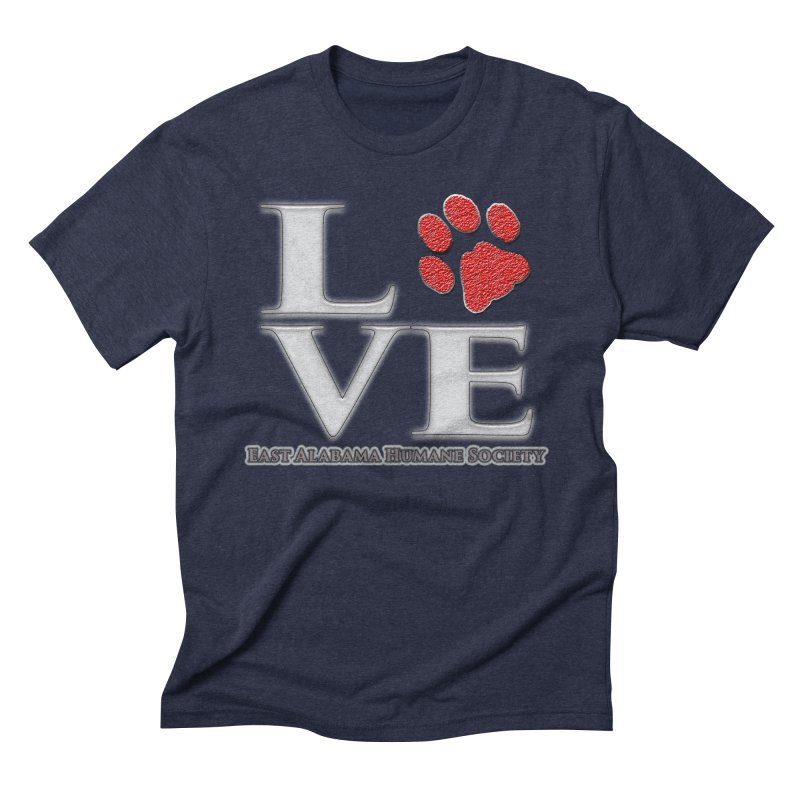 LOVE Men's T-Shirt by East Alabama Humane Society's Shop