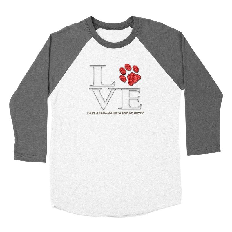 LOVE Women's Longsleeve T-Shirt by East Alabama Humane Society's Shop