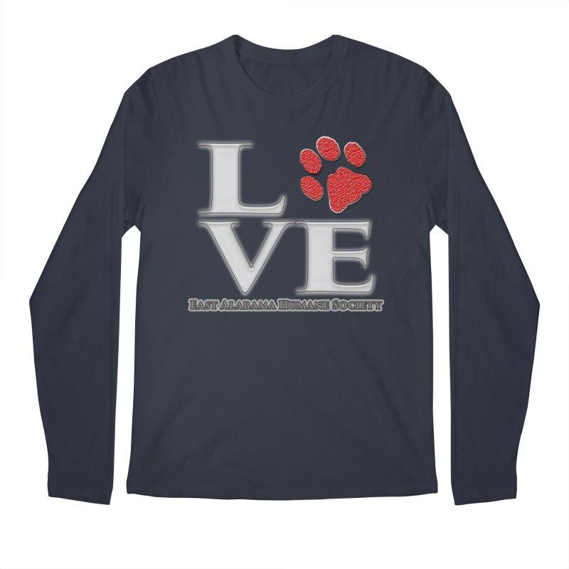 LOVE Men's Longsleeve T-Shirt by East Alabama Humane Society's Shop