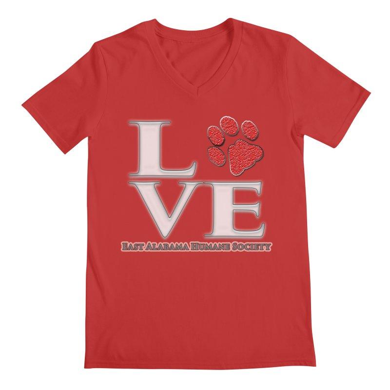 LOVE Men's V-Neck by East Alabama Humane Society's Shop
