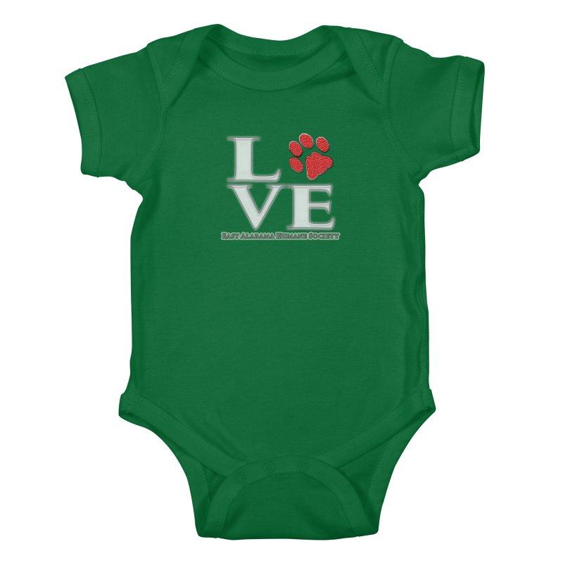 LOVE Kids Baby Bodysuit by East Alabama Humane Society's Shop
