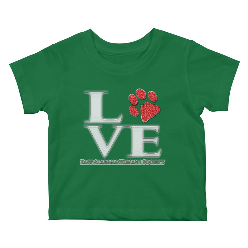 LOVE Kids Baby T-Shirt by East Alabama Humane Society's Shop