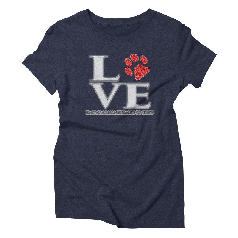LOVE Women's T-Shirt by East Alabama Humane Society's Shop