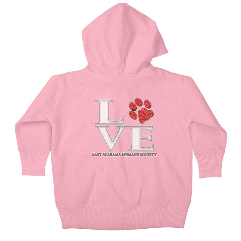 LOVE Kids Baby Zip-Up Hoody by East Alabama Humane Society's Shop