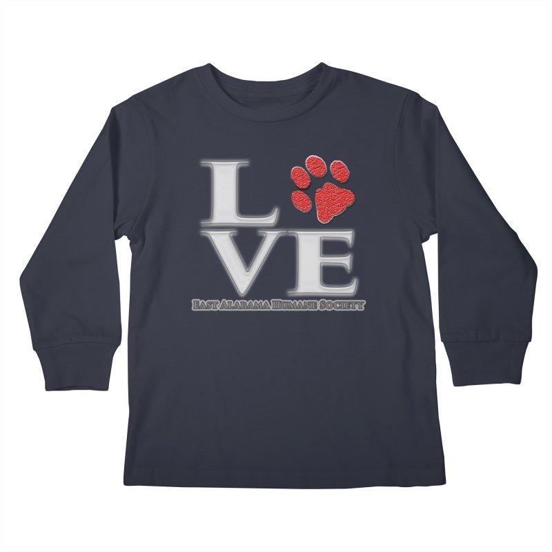 LOVE Kids Longsleeve T-Shirt by East Alabama Humane Society's Shop