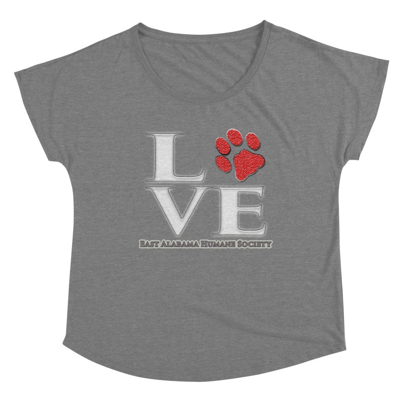 LOVE Women's Scoop Neck by East Alabama Humane Society's Shop