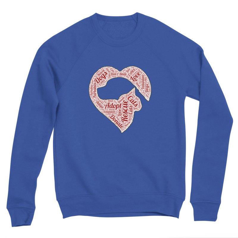 Heart Dog & Cat Women's Sweatshirt by East Alabama Humane Society's Shop