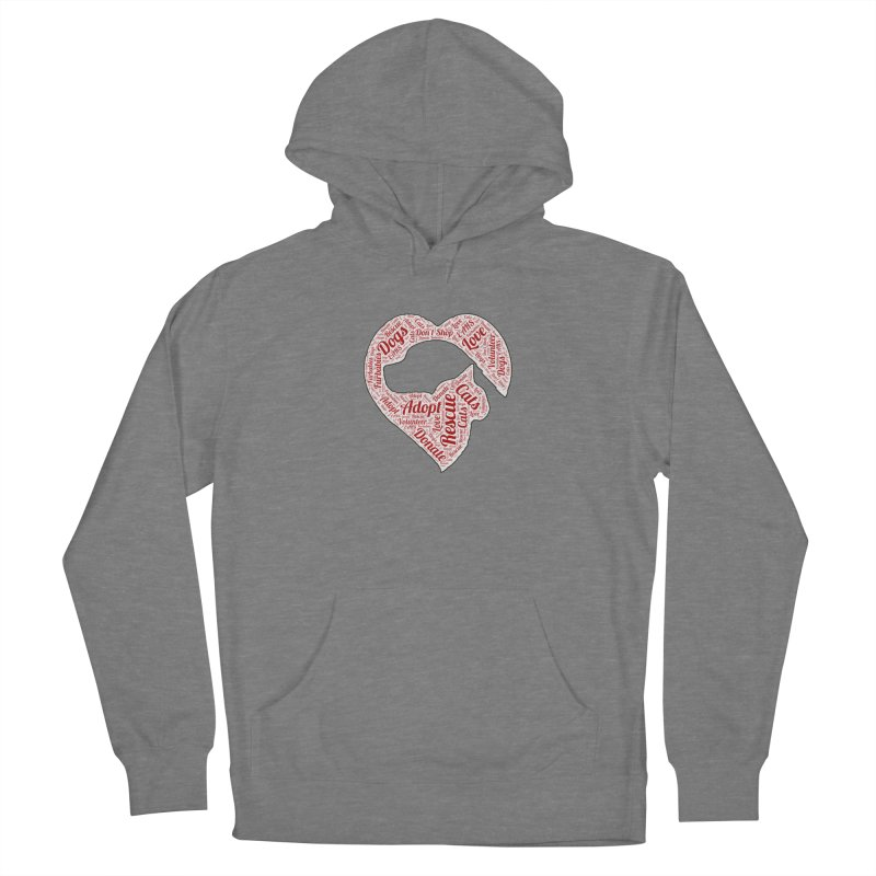 Heart Dog & Cat Women's Pullover Hoody by East Alabama Humane Society's Shop