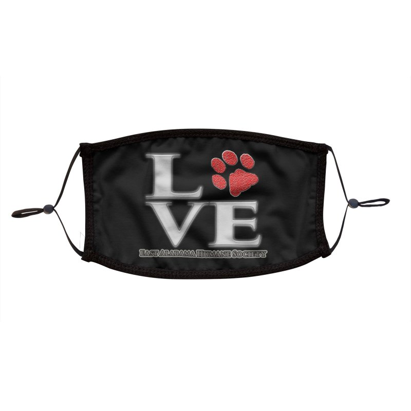 LOVE Facemask Accessories Face Mask by East Alabama Humane Society's Shop