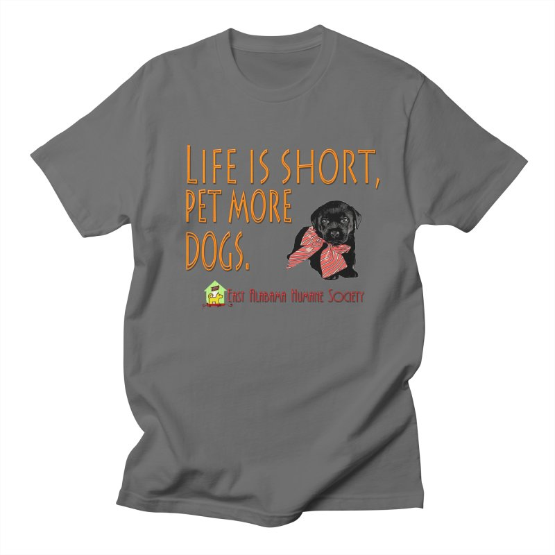 Pet more Dogs Men's T-Shirt by East Alabama Humane Society's Shop