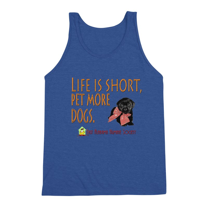Pet more Dogs Men's Tank by East Alabama Humane Society's Shop