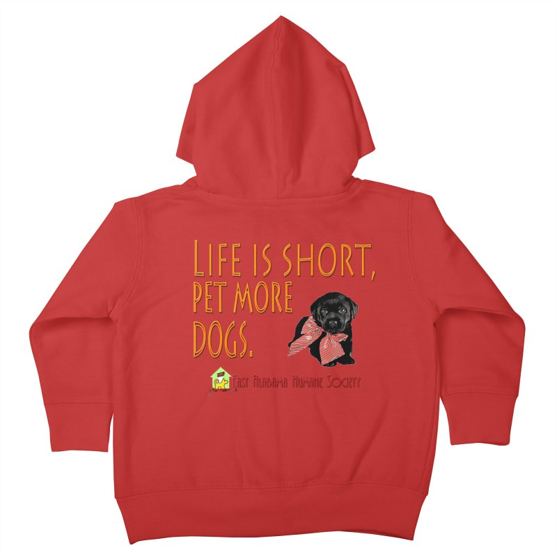 Pet more Dogs Kids Toddler Zip-Up Hoody by East Alabama Humane Society's Shop
