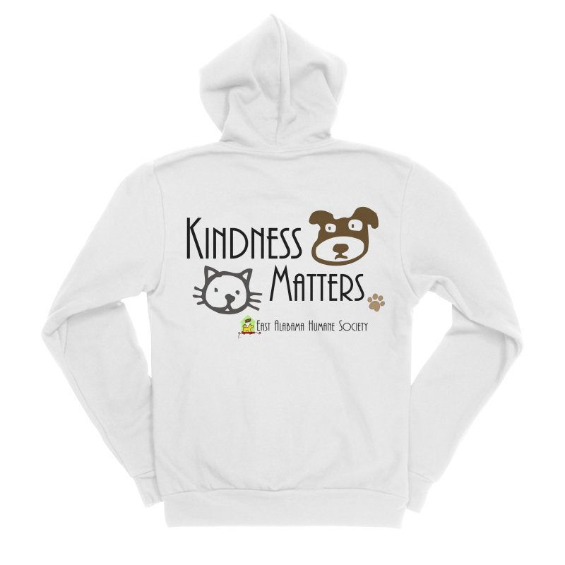 Kindness Matters Men's Zip-Up Hoody by East Alabama Humane Society's Shop