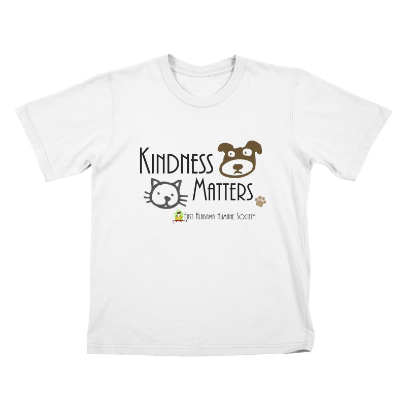 Kindness Matters Kids T-Shirt by East Alabama Humane Society's Shop
