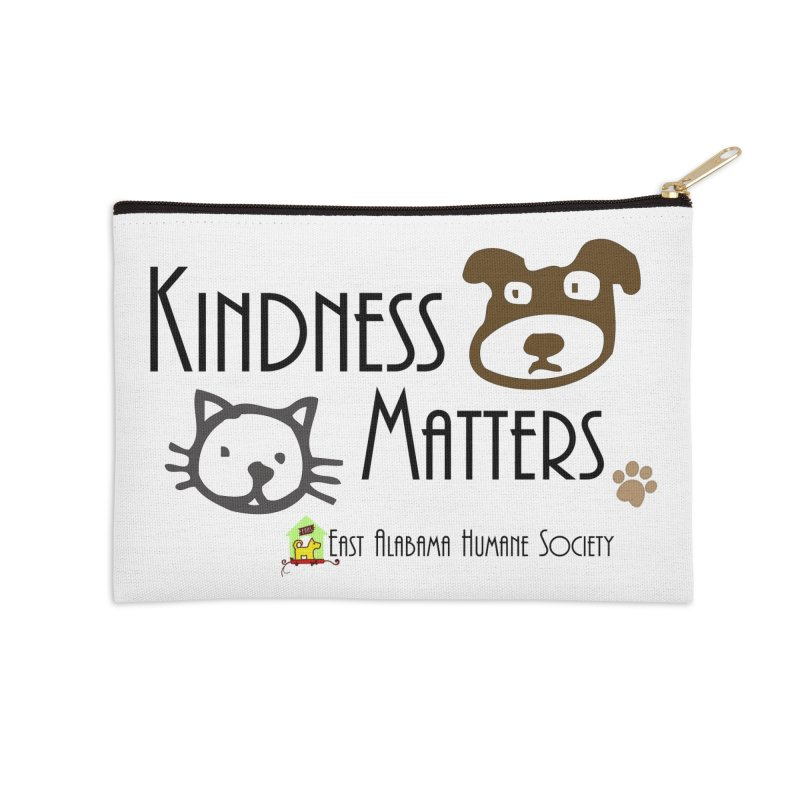Kindness Matters Accessories Zip Pouch by East Alabama Humane Society's Shop