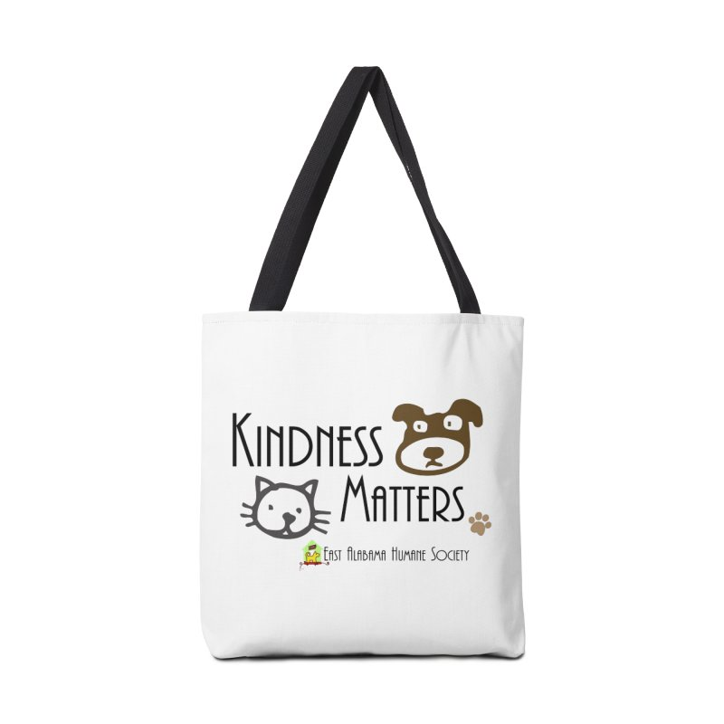 Kindness Matters Accessories Bag by East Alabama Humane Society's Shop