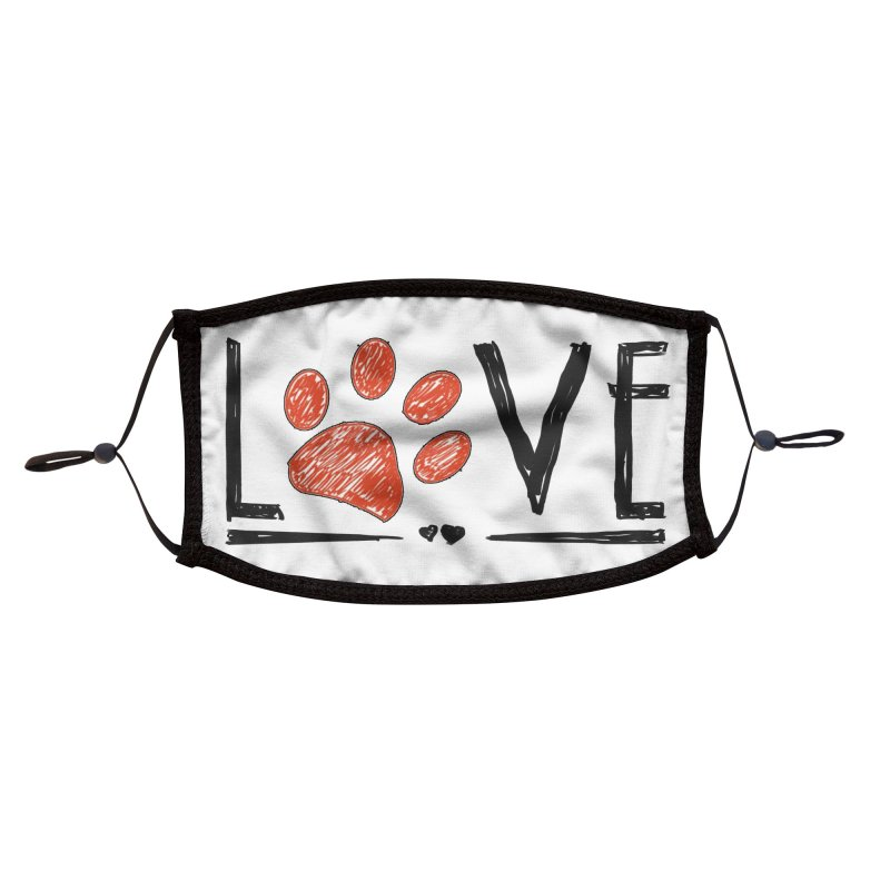 LOVE Accessories Face Mask by East Alabama Humane Society's Shop