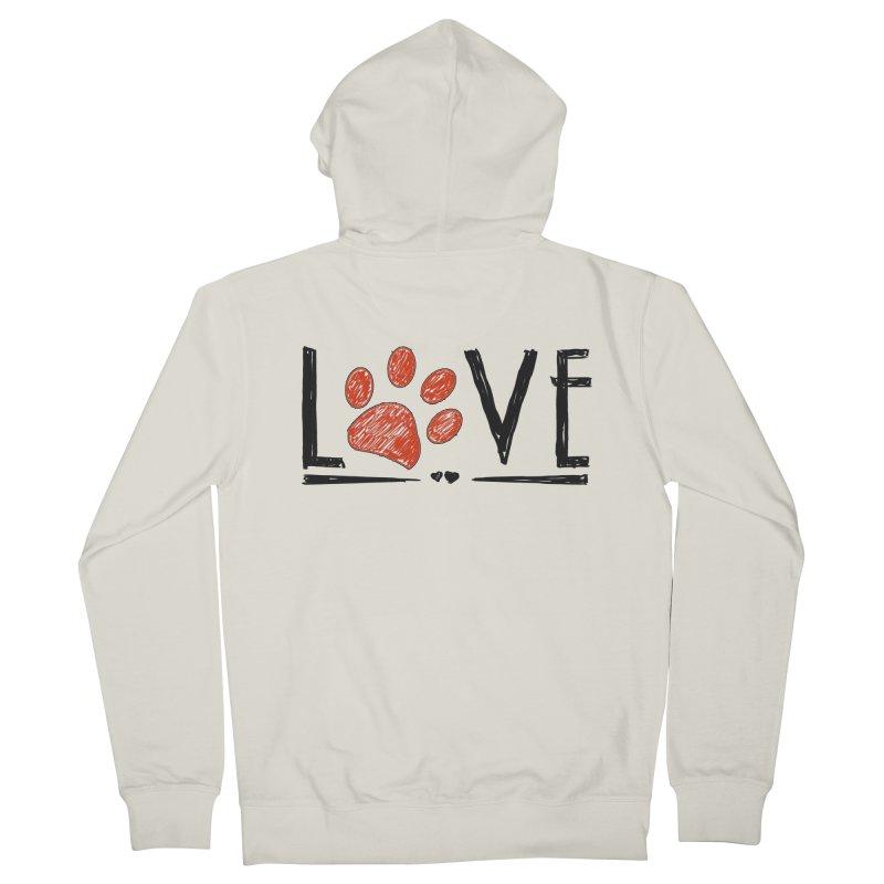 LOVE Women's Zip-Up Hoody by East Alabama Humane Society's Shop
