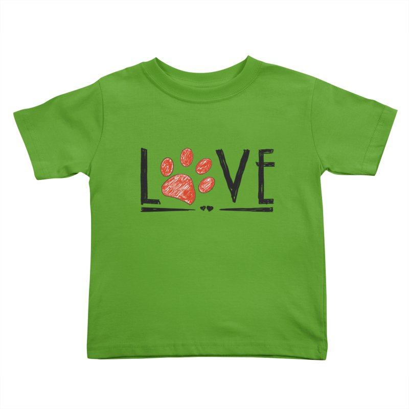 LOVE Kids Toddler T-Shirt by East Alabama Humane Society's Shop
