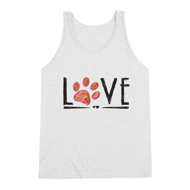 LOVE Men's Tank by East Alabama Humane Society's Shop