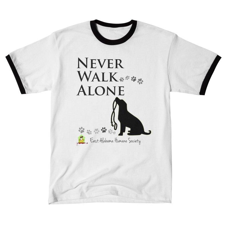 Never Walk Alone Women's T-Shirt by East Alabama Humane Society's Shop