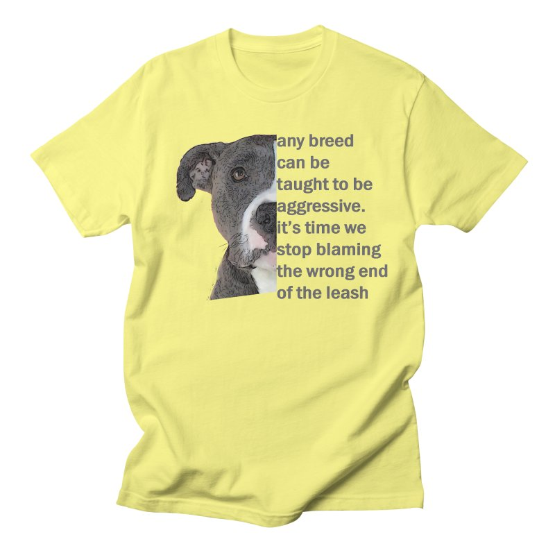 Pebble Awareness Men's T-Shirt by East Alabama Humane Society's Shop