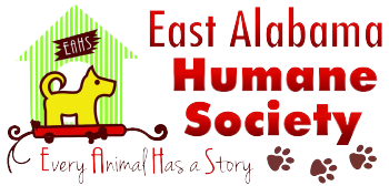 East Alabama Humane Society's Shop Logo