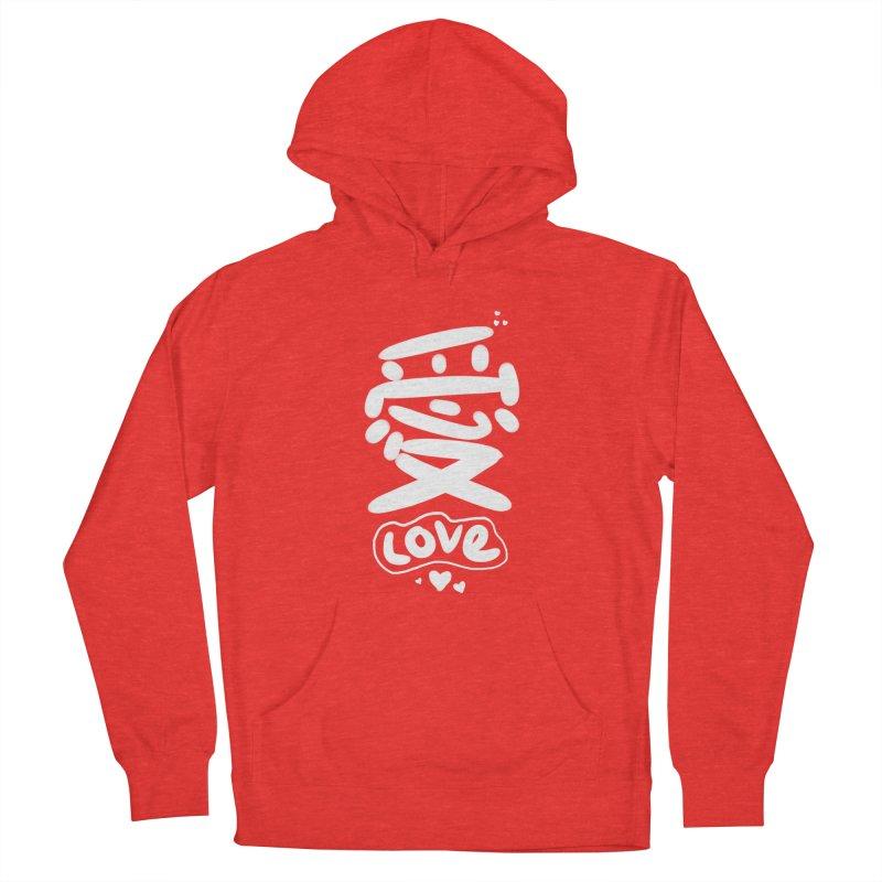 love_愛 Men's Pullover Hoody by EDINCLISM's Artist Shop