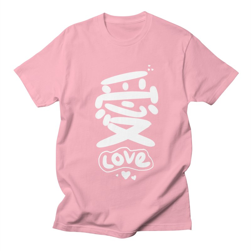 love_愛 Men's T-Shirt by EDINCLISM's Artist Shop