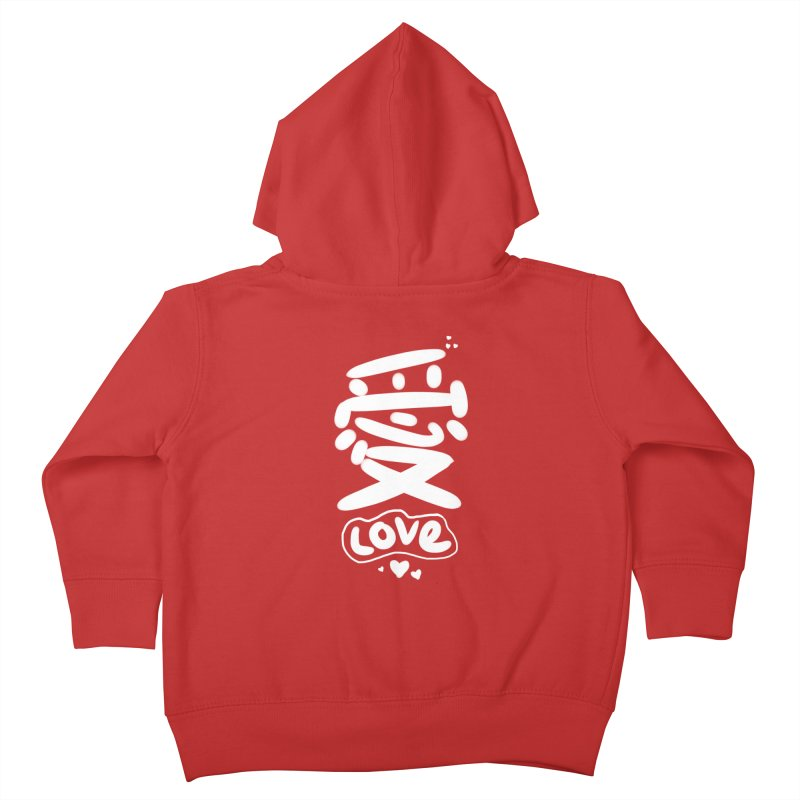 love_愛 Kids Toddler Zip-Up Hoody by EDINCLISM's Artist Shop