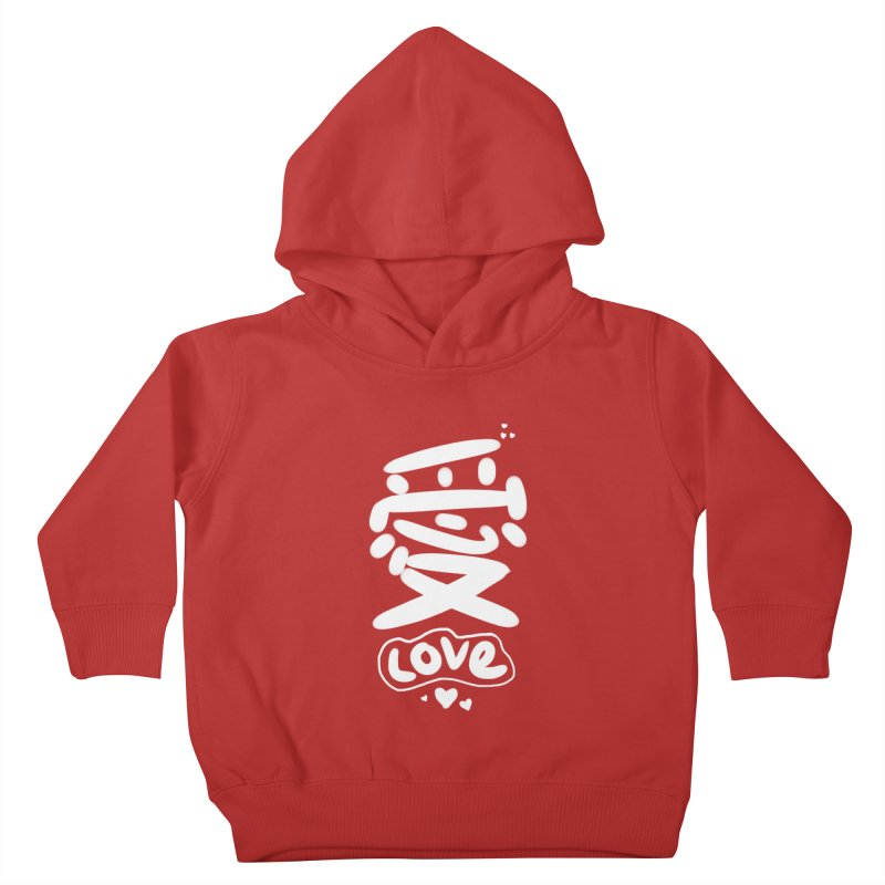 love_愛 Kids Toddler Pullover Hoody by EDINCLISM's Artist Shop