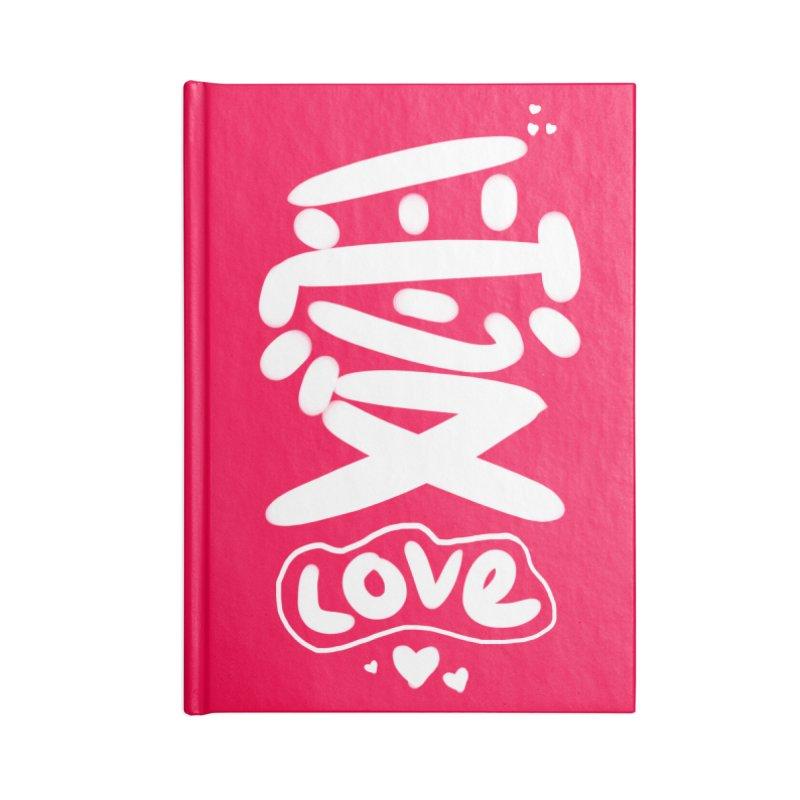 love_愛 Accessories Notebook by EDINCLISM's Artist Shop