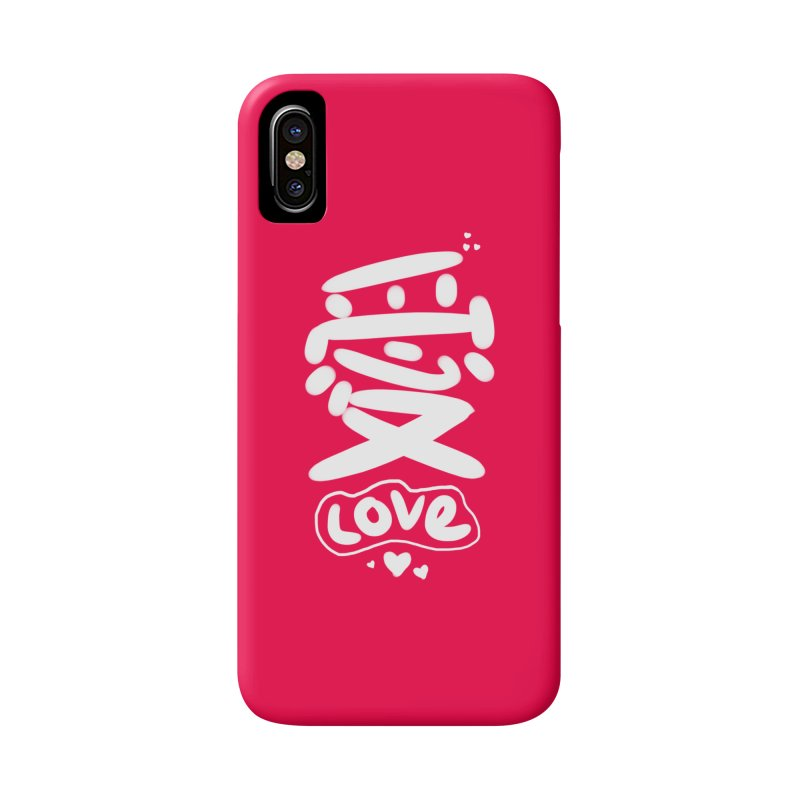 love_愛 Accessories Phone Case by EDINCLISM's Artist Shop