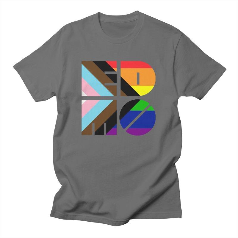 Pride Trans BLM EDMO Men's T-Shirt by EDMO