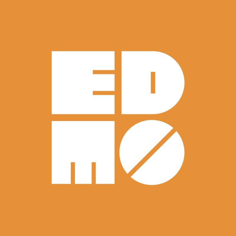 White EDMO Logo (Large) Women's Tank by EDMO
