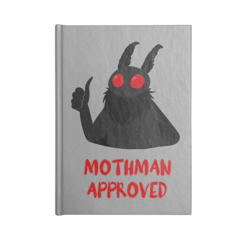 Mothman Approved Accessories Notebook by EEKdraws's Artist Shop