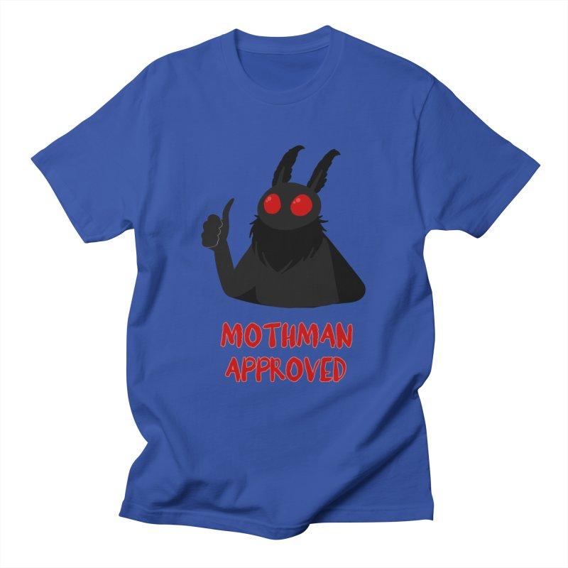 Mothman Approved Men's T-Shirt by EEKdraws's Artist Shop