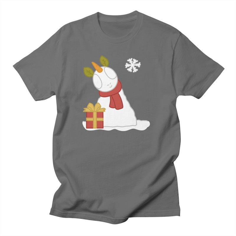 Snowpony Men's T-Shirt by EEKdraws's Artist Shop