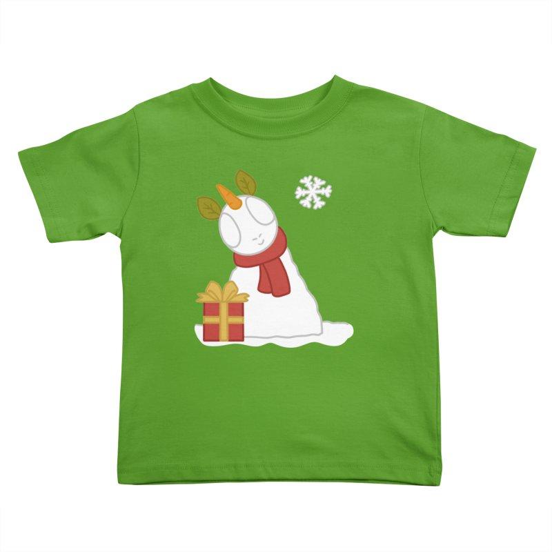 Snowpony Kids Toddler T-Shirt by EEKdraws's Artist Shop