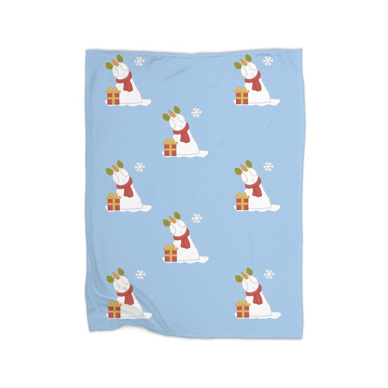 Snowpony Pattern Home Blanket by EEKdraws's Artist Shop