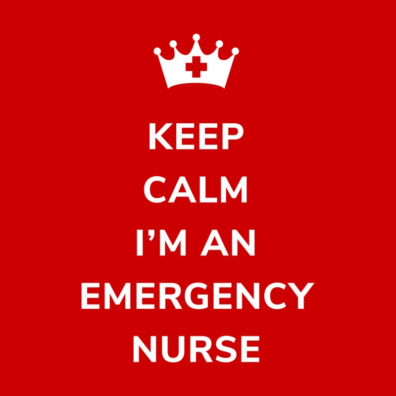 Keep Calm I'm An Emergency Nurse Women's Sweatshirt by ENA Together